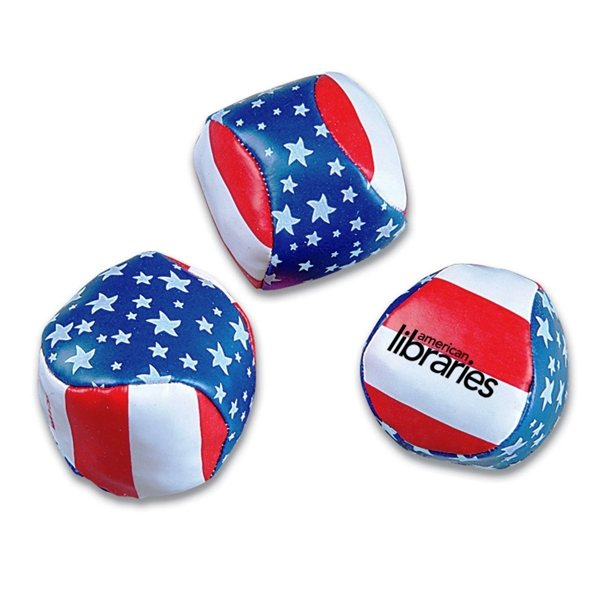 Promotional American Flag Hacky Sack