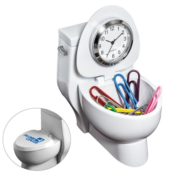 Promotional Toilet Clock