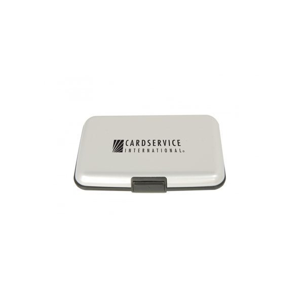 Promotional Aluminum Wallets - Silver