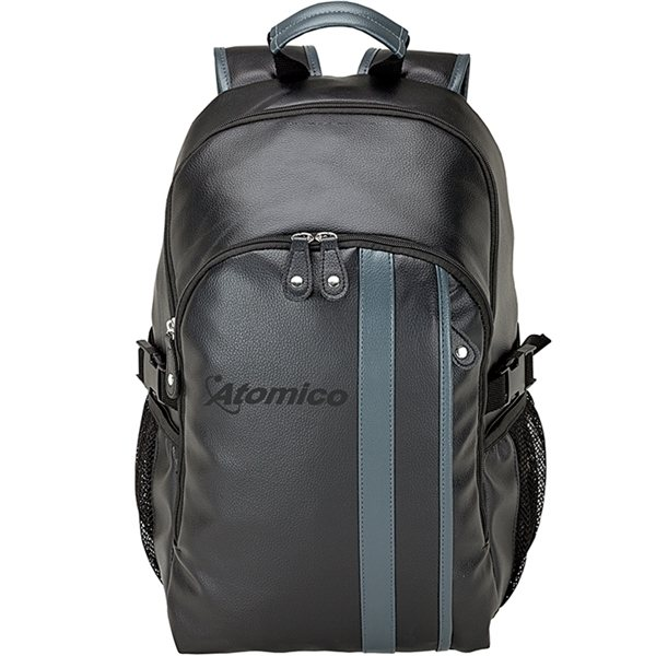 Promotional Lichee Backpack with Zippered Pockets