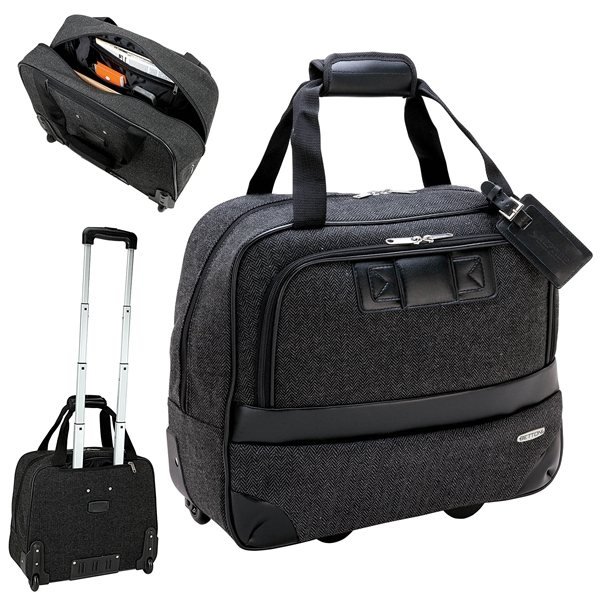Promotional Bettoni Rolling Executive Travel Case