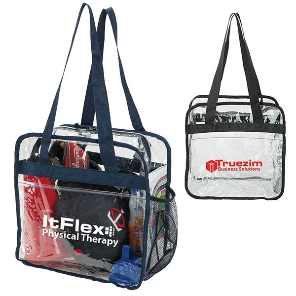 Promotional Athina Clear Stadium Tote