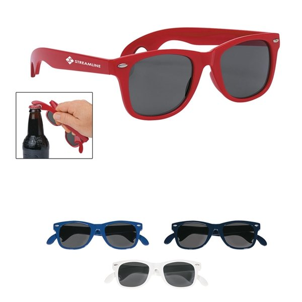 Promotional Bottle Opener Malibu Sunglasses