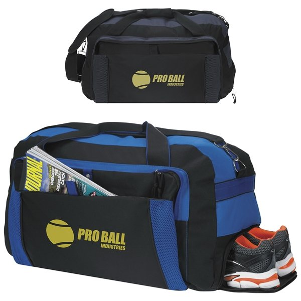 Promotional Good Value Polyester Excursion Duffel