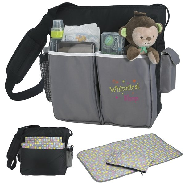 Promotional Good Value Polyester Tot Diaper Bag