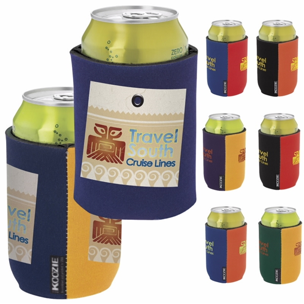 Promotional Dual Color KOOZIE Can Kooler