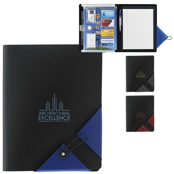 Promotional Bermuda Polypro Filefolio