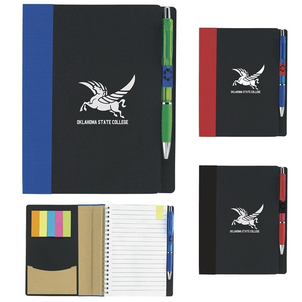 Promotional 5x7 ECO Notebook w / Flags