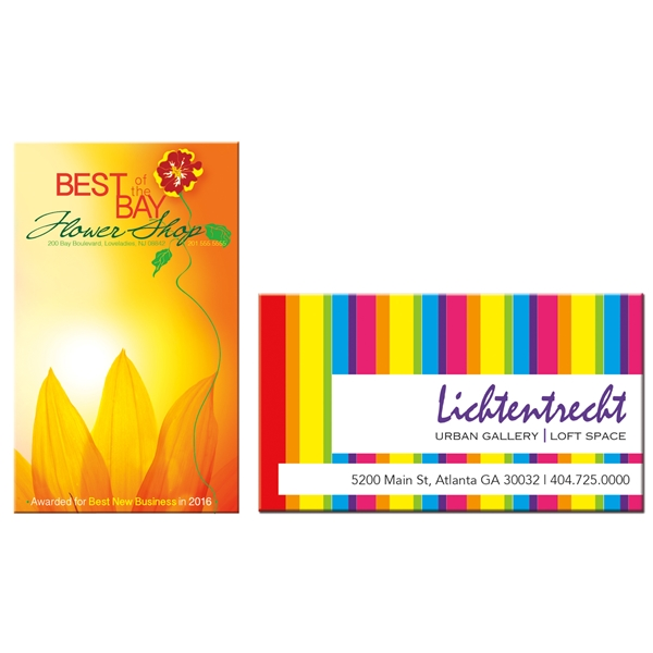Promotional Large Business Card Magnet