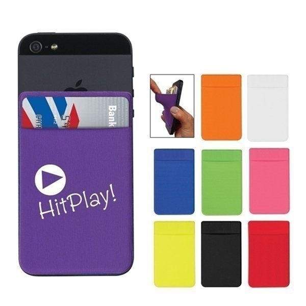 Promotional Spandex Phone Wallet