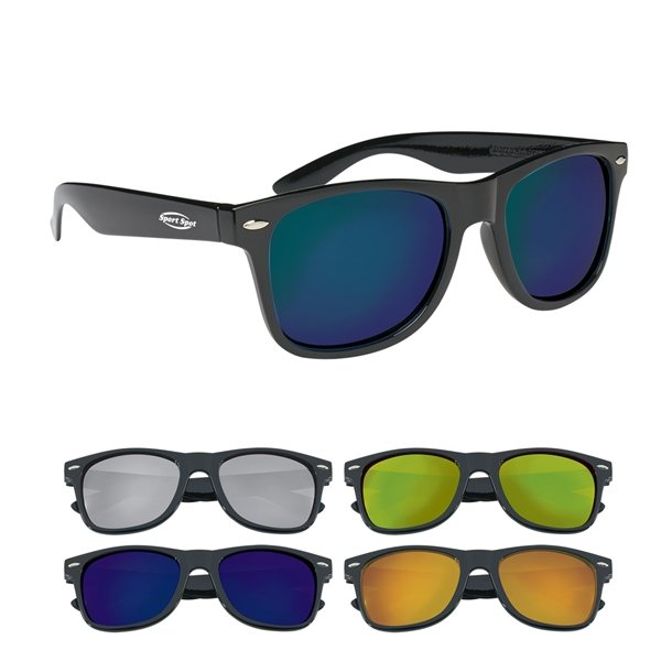 Promotional Mirrored Malibu Sunglasses