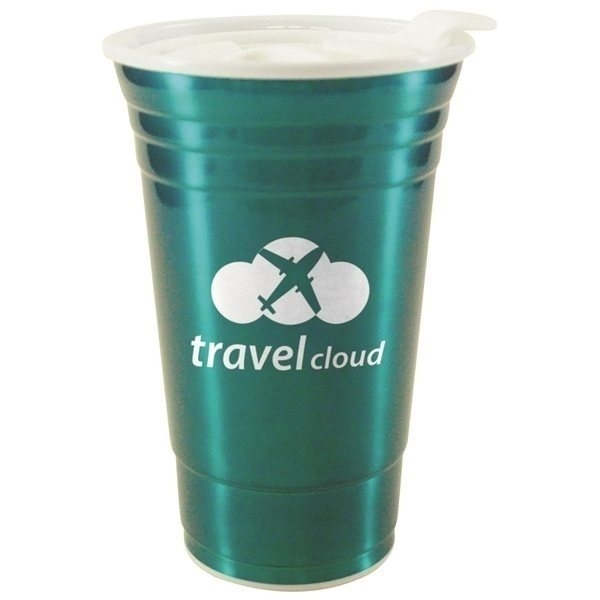 Promotional 16 oz Stainless Vintage Uno Cup