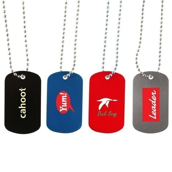Promotional Dog Tag Necklace