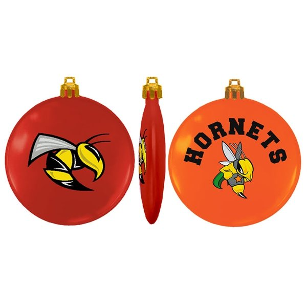 Promotional USA Made Flat Shatterproof Ornament