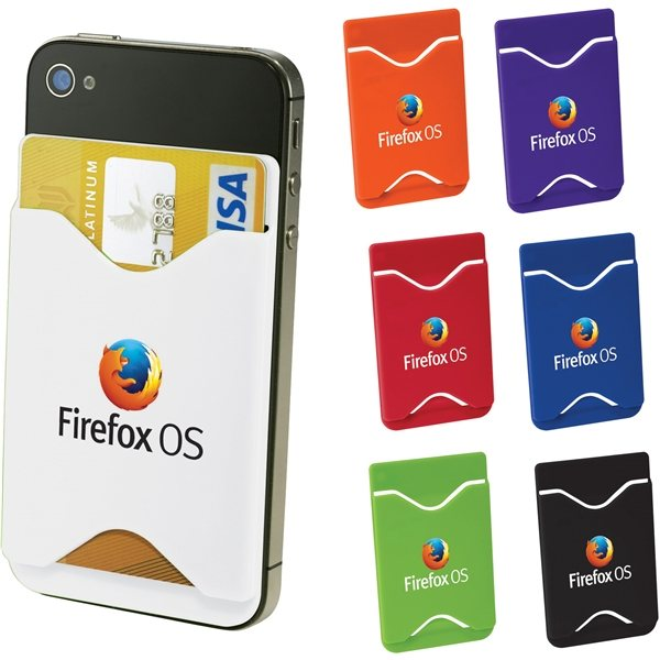 Promotional Plastic Phone Wallet