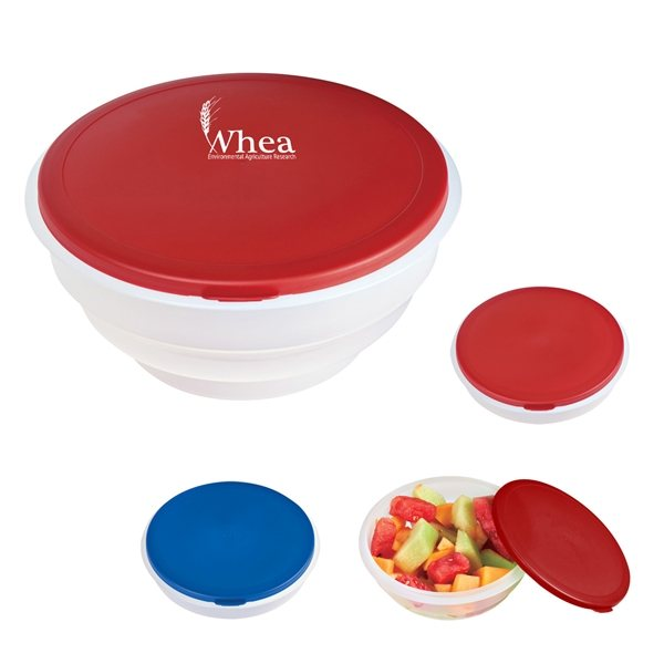 Promotional Collapsible Big Lunch Bowl