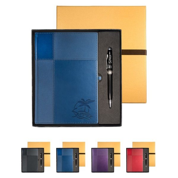 Promotional Tuscany(TM) Journal Executive Stylus Pen
