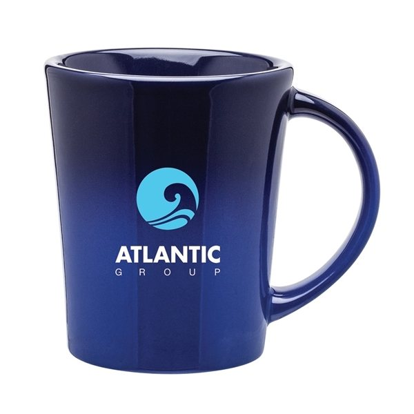 Promotional 14 oz Emma Ombre Mug - Wave