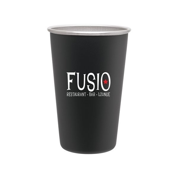 Promotional 16 oz SS Pint - Matte Black
