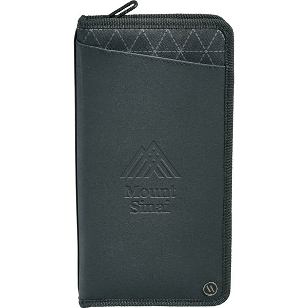 Promotional elleven(TM) Traverse RFID Travel Wallet