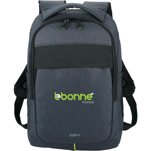 Promotional Zoom(R) Power Stretch 15.6 Computer Backpack