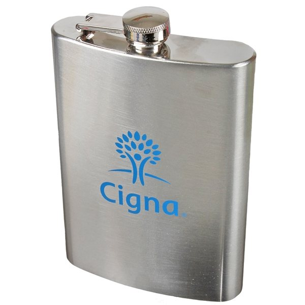 Promotional 12 oz Stainless Steel Flask