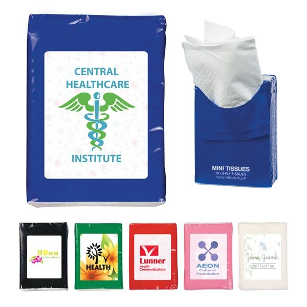 Promotional Mini Tissue Pack