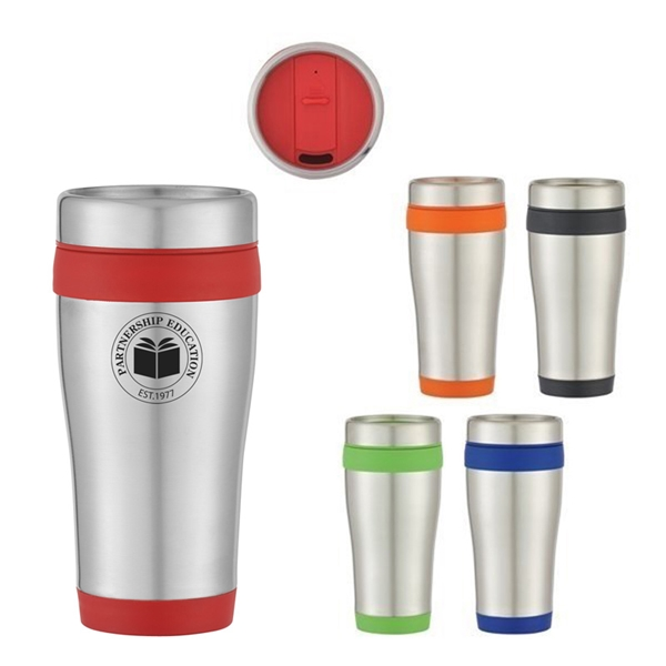 Promotional 15 oz Aspen Stainless Steel Tumbler