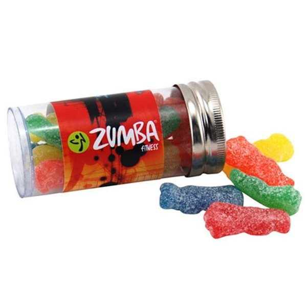 Promotional Small Plastic Tube with Sour Patch Kids