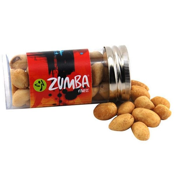 Promotional Small Plastic Tube with Peanuts