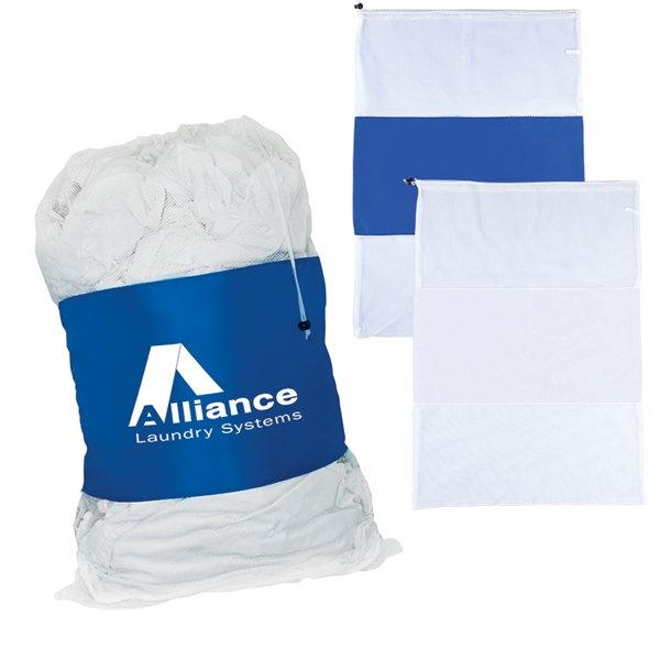 Promotional Duo Mesh / Polyester Laundry Bag