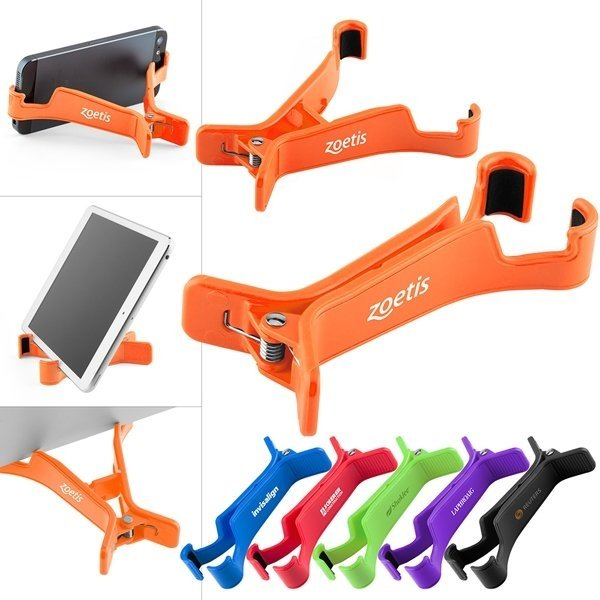 Promotional Tech Clip Tablet / Phone Stand