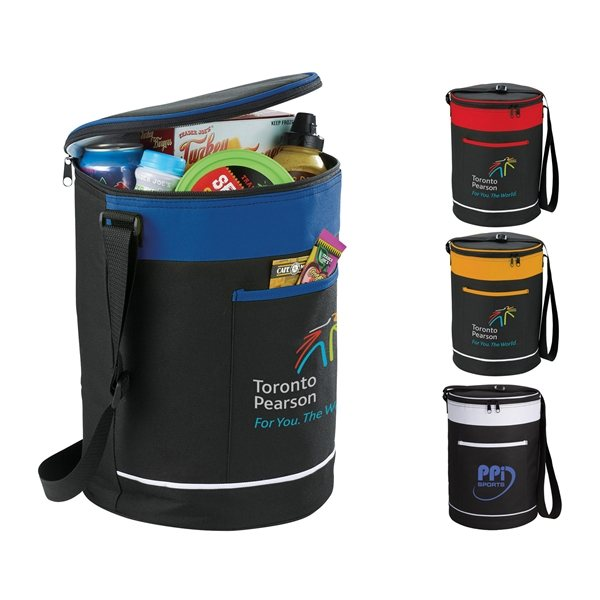 Promotional Spectator Barrel 18- Can Event Cooler