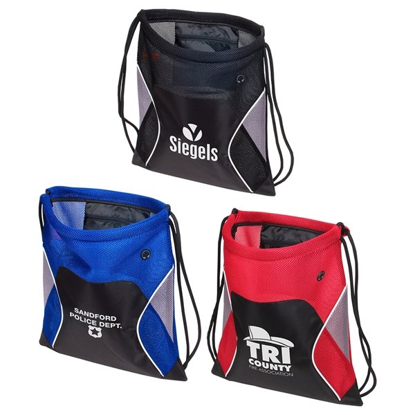 Promotional Jumbo Globetrotter Drawstring Bag