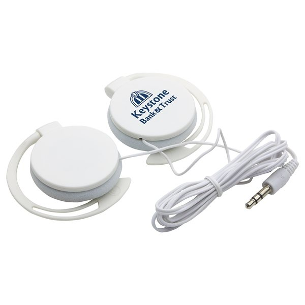 Promotional Easy Clip Portable Headphones