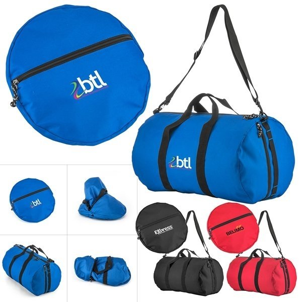 Promotional Hide - A - Way Collpasible Duffel