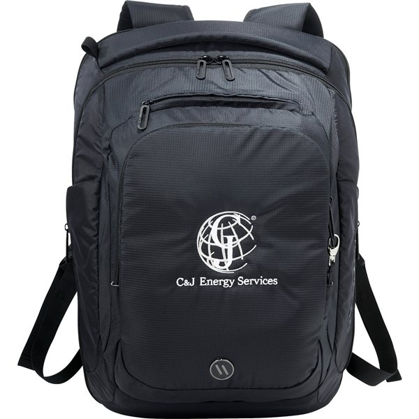 Promotional elleven(TM) Stealth TSA 17 Computer Backpack