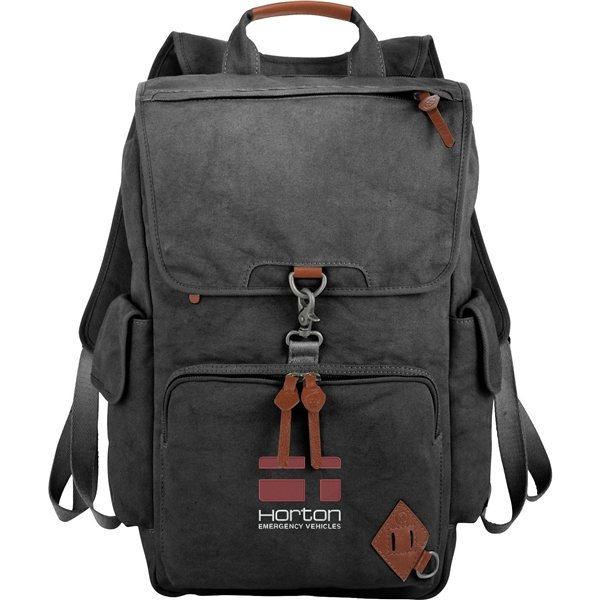 Promotional Alternative(R) Deluxe 17 Cotton Computer Backpack