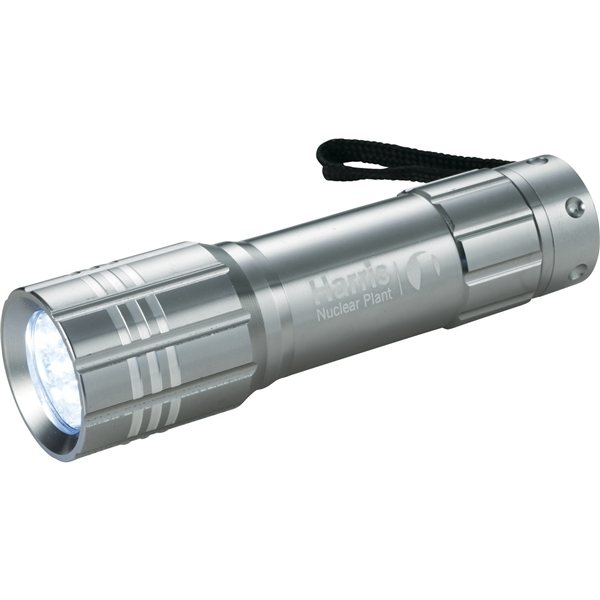 Promotional Flare 8 LED Max Flashlight