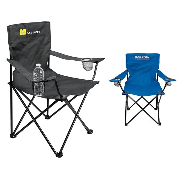 Promotional Point Loma Folding Event Chair with Carrying Bag