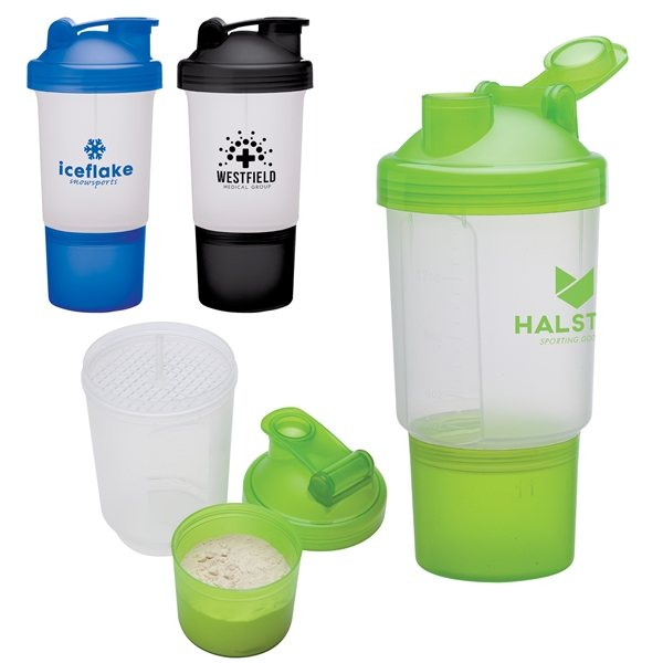 Promotional Buff 16 oz Fitness Shaker Cup
