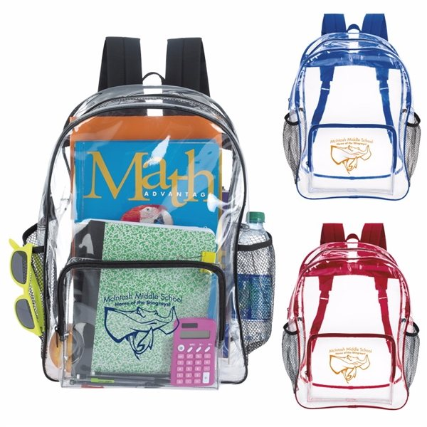 Promotional GoodValue PVC Clear Backpack