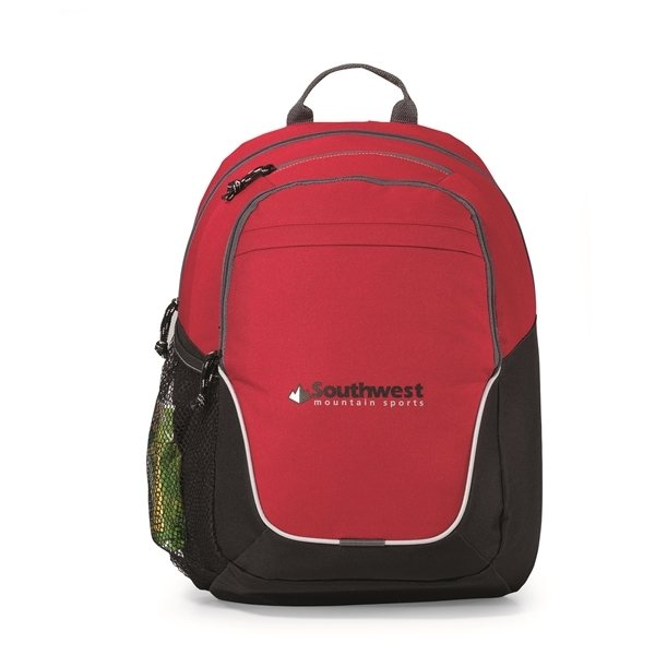 Promotional Mission Backpack - Red