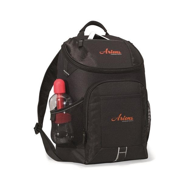 Promotional Frontier Computer Backpack - Black