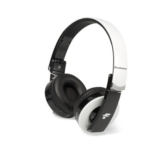 Promotional Brookstone(R) Rhapsody Bluetooth(R) Headphones - White