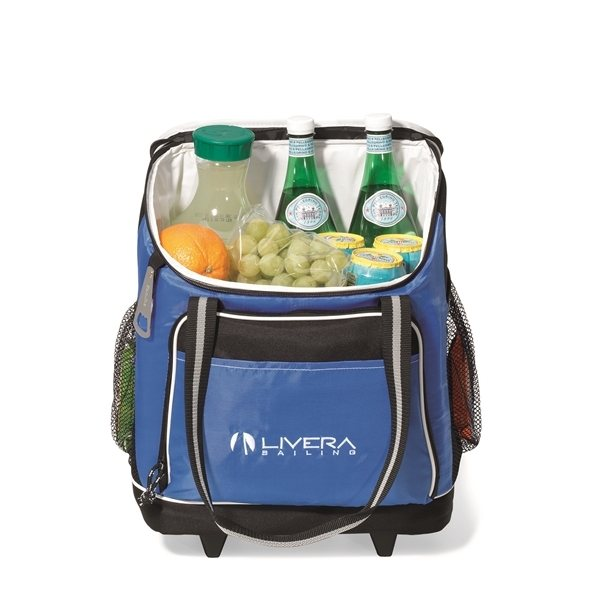 Promotional Harbor Wheeled Cooler - Royal Blue