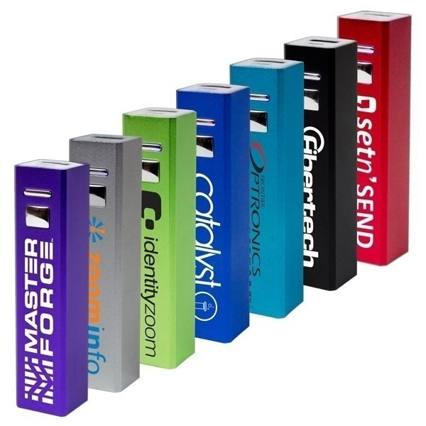 Promotional 2600 mAh Standard Power Bank