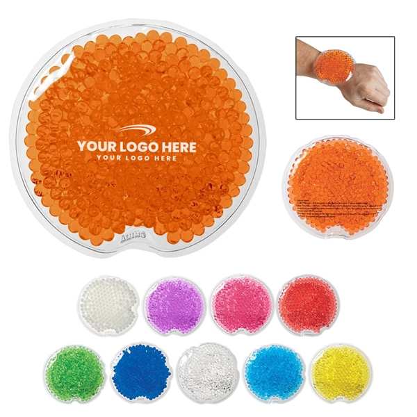 Promotional Small Round Gel Beads Hot / Cold Pack