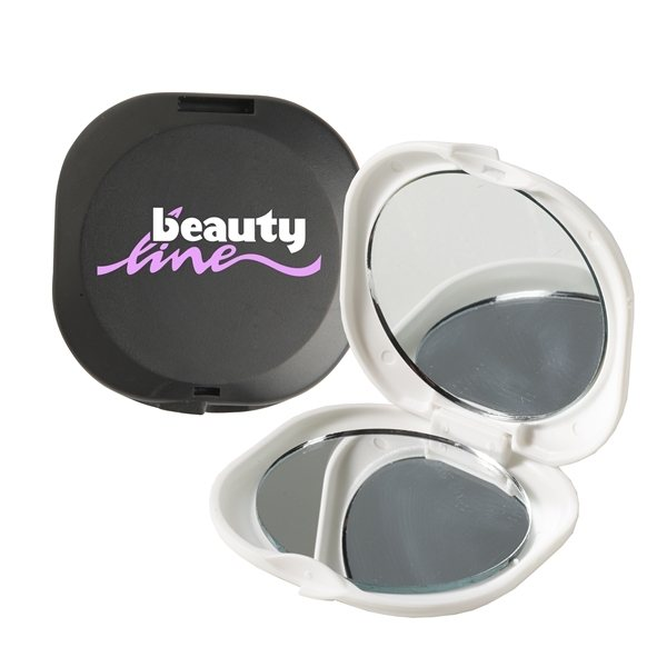 Promotional Double Diva(TM) Compact Mirror