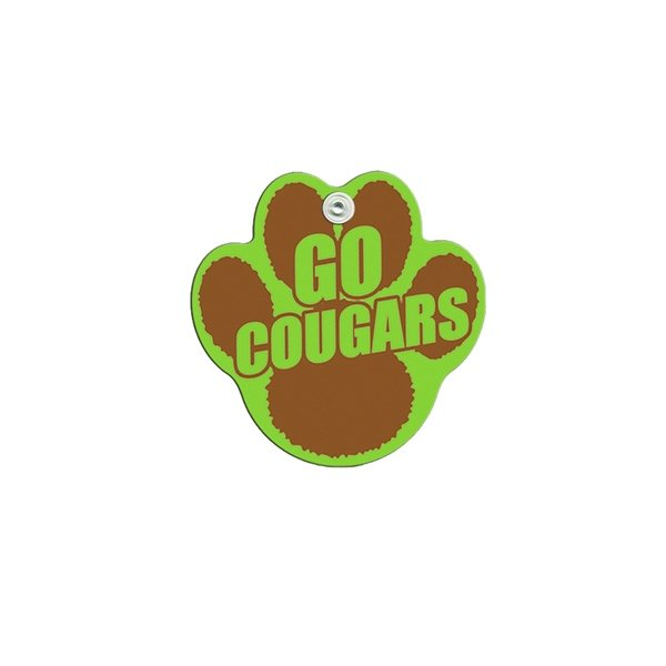 Promotional Mini Paw Window Sign - Paper Products